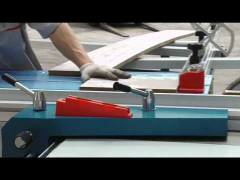 zhongding sliding table saw operation