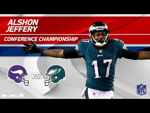 Video: Alshon Jeffery's 2 TD Day vs. Minnesota! | Vikings vs. Eagles | NFC Championship Player HLs