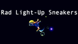 Rad Light-Up Sneakers: A PM Lucas Discord Combo Video (x-post from /r/ssbpm)