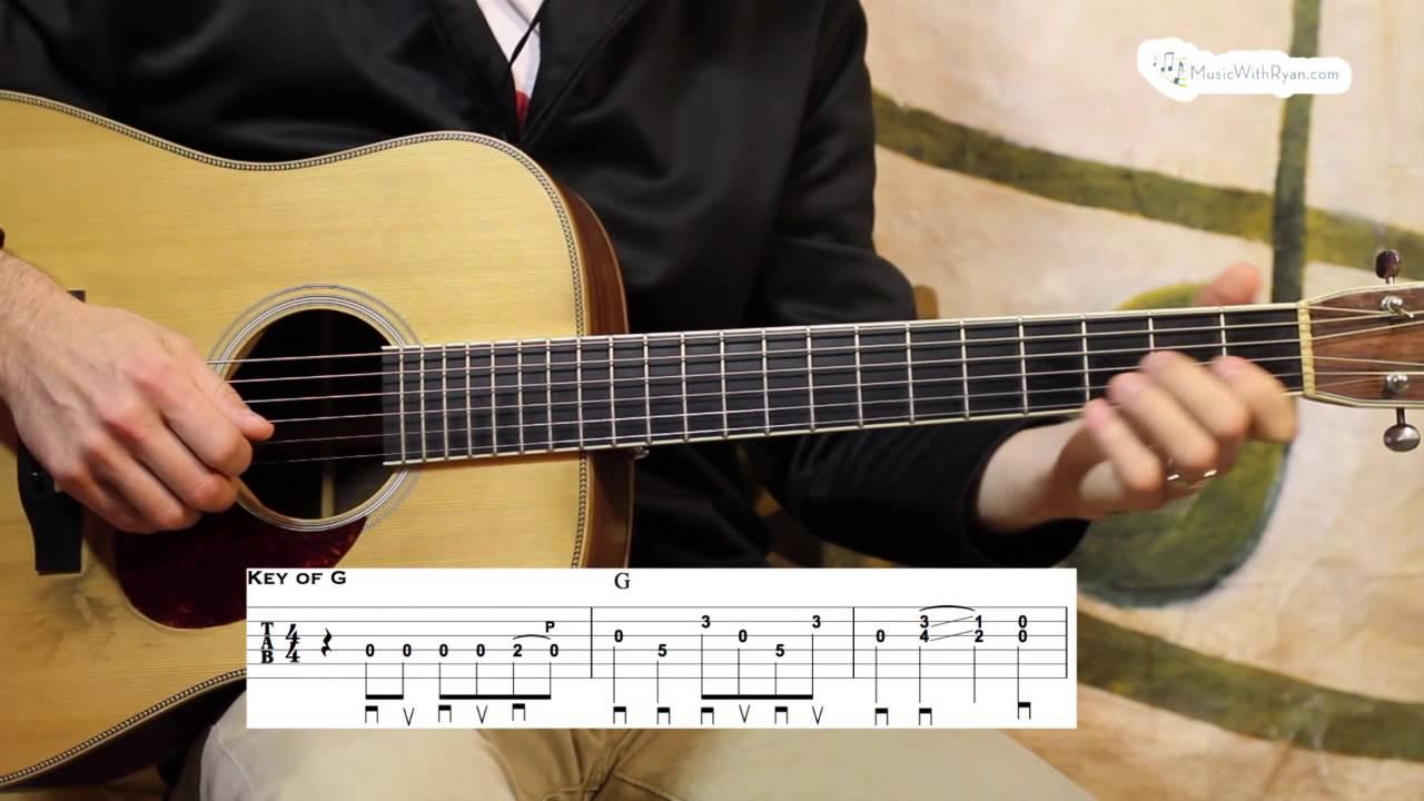 Nine Pound Hammer – Advanced Guitar Lesson
