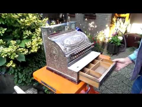 National antique Cash Register Model 346