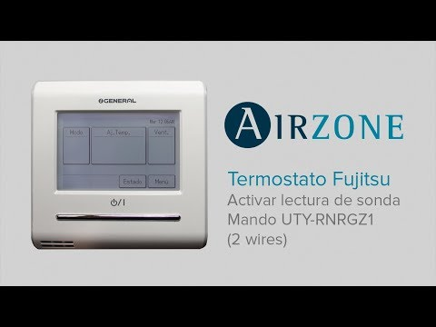Termostato Fujitsu: activación lectura de Sonda