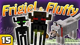 FRIGIEL & FLUFFY : Ils sont trop nombreux !  | Minecraft - S7 Ep.15