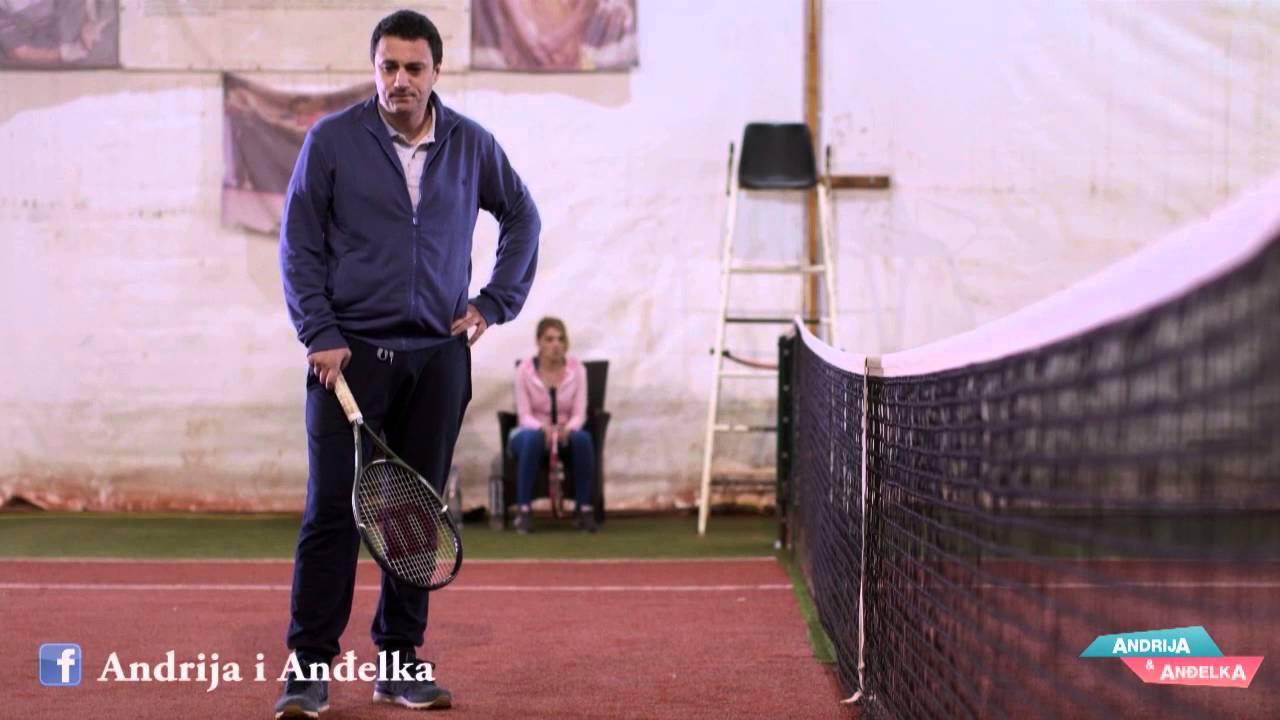 Andrija i Andjelka – Tenis pijane hobotnice