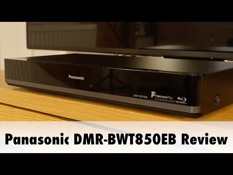 Panasonic DMR-BWT850EB PVR Blu-ray Combi Review