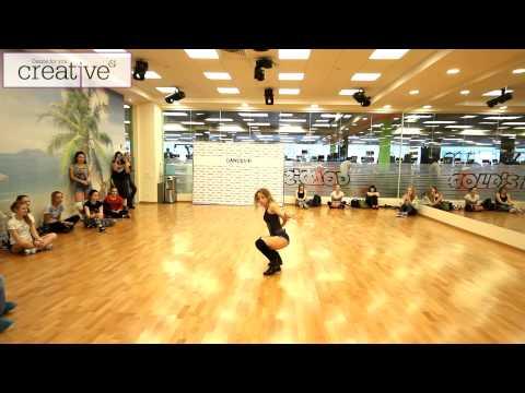 Космический прокач от Елены Яткиной. Choreography by Fraules. Dancehall (видео)