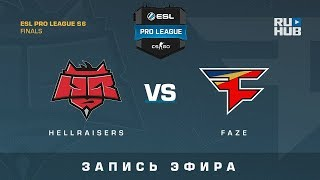 Hellraisers vs FaZe - ESL Pro League Finals - de_overpass [yXo, Enkanis]