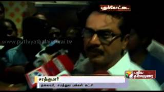 Sarathkumar exudes confidence that Jaya would be totally free from the wealth case within 3 months