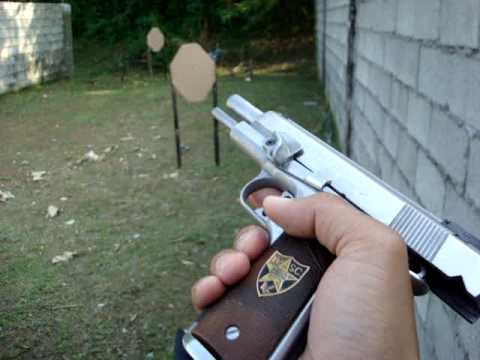 colt MK IV gold cup national match first person shooting