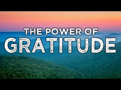 Nada Video: Cultivating An Attitude of Gratitude