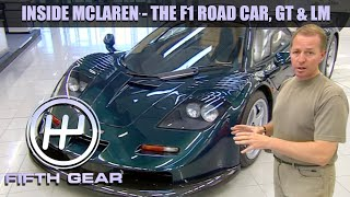 Inside McLaren with Martin Brundle | Fifth Gear by Fifth Gear