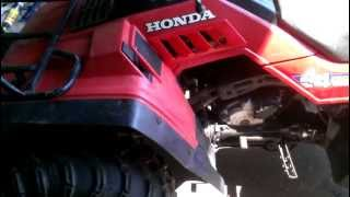 9. Honda Fourtrax 350 4X4