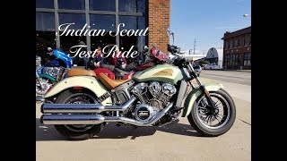 7. 2018 Indian Scout Test Ride