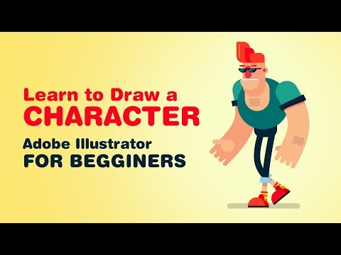 Learn How to Draw Character in Adobe Illustrator PART 1