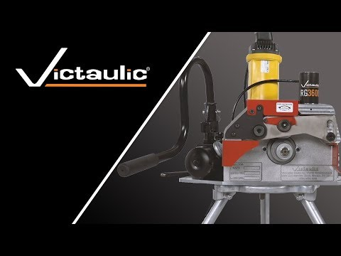 Victaulic RG3600 StrengThin™ 100 Pipe Roll Grooving Tool Set-Up and Operation Reference