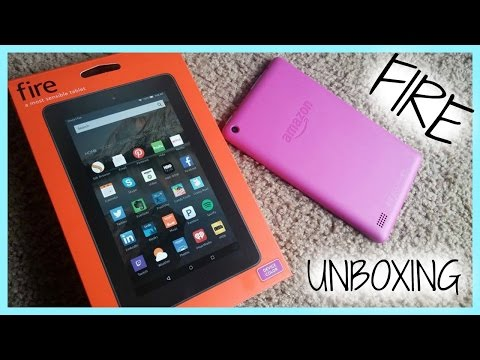 UNBOXING/Fire Tablet, 7