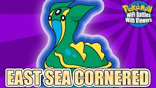 | EAST SEA CORNERED | Pokémon WiFi Battles With Viewers Highlight by Ace Trainer Liam