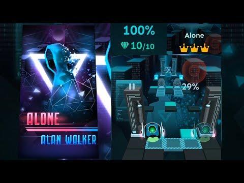 Rolling Sky - Alone (Alan Walker) (видео)