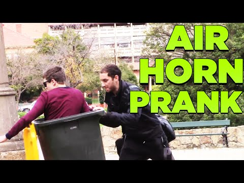 bin - Pranks Prank Air Horn Bin PRANKS (Gone Wrong) - Public