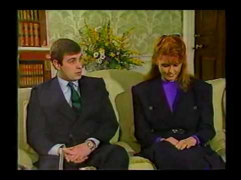 Prince Andrew and Sarah Ferguson profile & interview (1986)