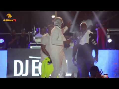 RUNTOWN,DAVIDO, AND B RED'S PERFORMANCE AT DAVIDO LIVE IN CONCERT 2018