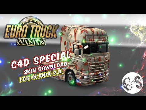 Scania RJL C4D Special Skin