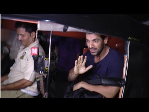 Satyameva Jayate Screening - John Abraham Arrives