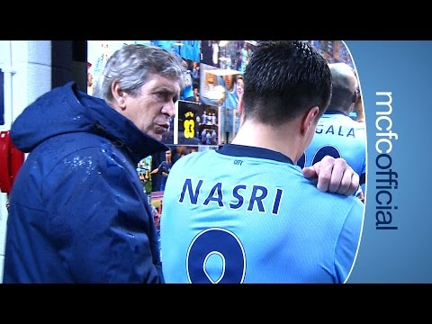 Sunderland - On the pitch, City joined Chelsea at the top of the Barclays Premier League, beating Sunderland 3-2. But what happened OFF the pitch? Check out our Tunnel Cam and see Les
