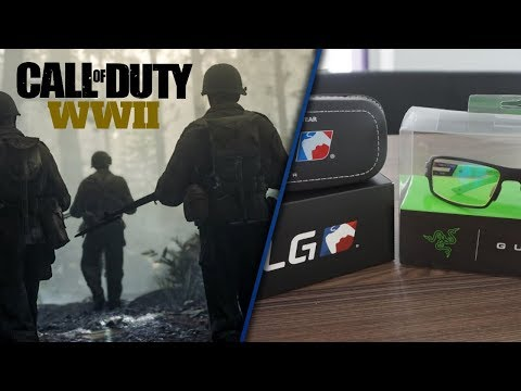 COD WW2 With Razer Gunnar RPG Onxy Review - Gaming Glasses / Playstation Experience