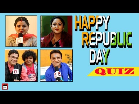RepublicDay quiz with Chidiya Ghar actors |