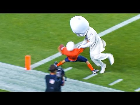 Ozzy Man Commentates on Mascots vs Kids Football