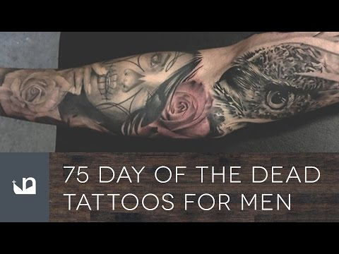 75 Day Of The Dead Tattoos For Men