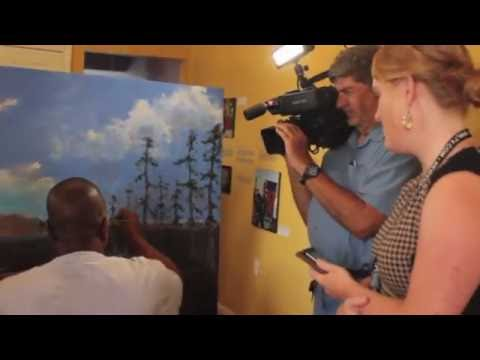 New Orleans Art Council Commissions Famous African American Artist Ted Ellis