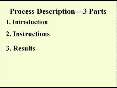 ENG 352 Technisches Schreiben- 35 - Anleitung und Prozessbeschreibungen