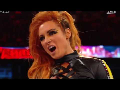 WWE wrestlemania 35  women's championships Raw title and smackdown title  win by Bucky lynch '