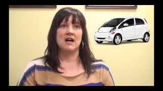 Twitsubishi Test Drive - 2013 Mitsubishi IMiev - Lesley White - Harris Mitsubishi