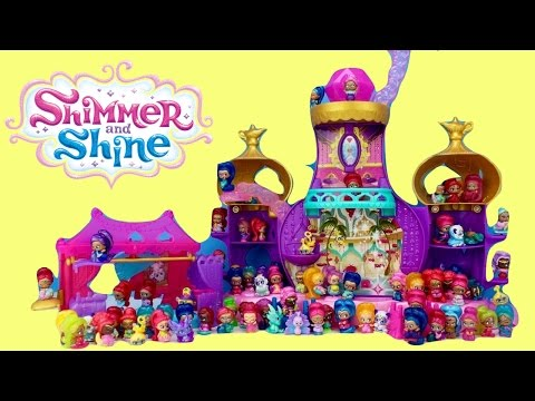 Shimmer and Shine Teenie Genie Toy Mania Haul NEW for 2017 Unboxing Opening
