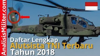 Video Terungkap, Inilah Daftar Alutsista TNI Terbaru 2018 MP3, 3GP, MP4, WEBM, AVI, FLV November 2017