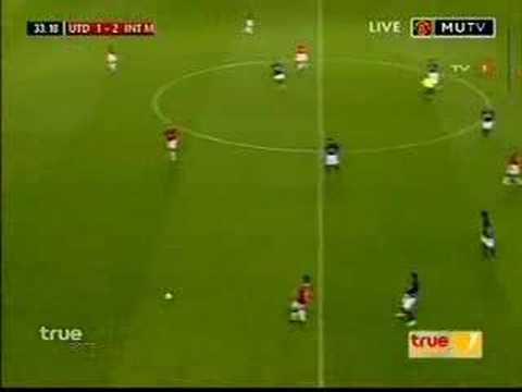 Dos Goles de David Suazo al Manchester United