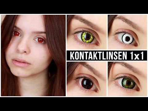 KONTAKTLINSEN 1x1 • EINFACH einsetzen, rausnehmen, Review & Demo!
