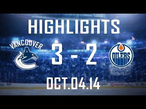 Canucks - Vancouver defeats Edmonton 3-2 in their seventh and final pre-season contest, finishing with a record of 5-2-0. The Canucks open the regular season Wednesday...