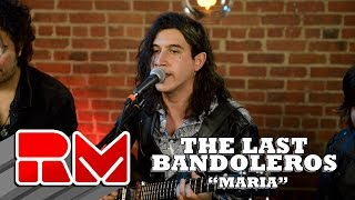 """See more of The Last Bandoleros at: http://www.realmagictv.com/music/666/The-Last-BandolerosThe Last Bandoleros """"Maria"""" - Live Acoustic Performance in on Real Magic TV. The band stopped by our Northeast studio while on tour. They played 4 songs in this exclusive session. The Last Bandoleros are:Jerry Fuentes - Vocals & Guitar Derek James - Vocals & GuitarDiego Navaira- Vocals & BassEmilio Navaira - Vocals & PercussionThe Last Bandoleros are on a roll. The group has sold-out New York City's Rockwood Music Hall as headliner and opened for Canadian chanteuse Feist at Webster Hall (NYC). They've performed live with Sting and also feature as backing vocalists on his new single """"I Can't Stop Thinking About You"""" currently climbing the AAA radio and iTunes rock charts. At the time of the video publishing the band was on tour with Sting. Members of the group perform with Sting nightly and have appeared on Sting's latest release """"57th and 9th""""."""