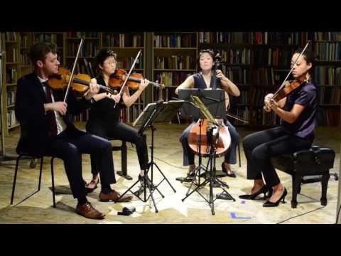 See video  J. Haydn-String Quartet No. 1 Op. 74