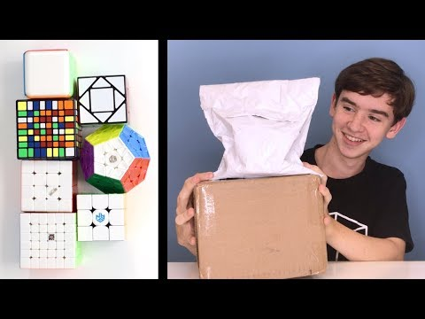 HUGE CUBICLE UNBOXING! 7 Cubes! (354 M, Mini WuQue M, Shadow M + More!) | thecubicle.us