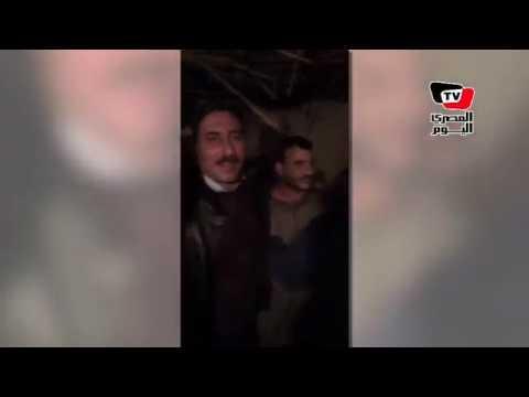 لحظة القبض على عضو تنظيم «بيت المقدس» الهارب من «سجن المستقبل»