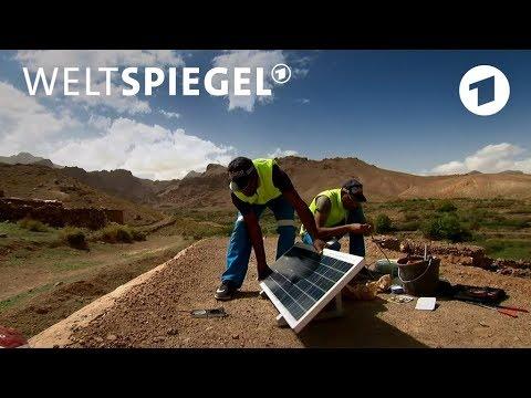 Marokko: Der Sonnenkönig - neueste Solartechnik in entl ...