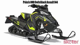 8. 2018 Polaris 800 Switchback Assault 144 - Walkaround