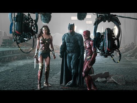 'Justice League' Behind The Scenes