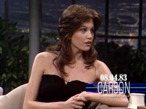 Diane Lane Talks About Her 18th Birthday on Johnny Carson's Tonight Show 1983