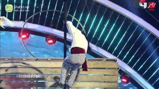Arabs Got Talent - محمد وفرات غربي- عرض النصف نهائيات